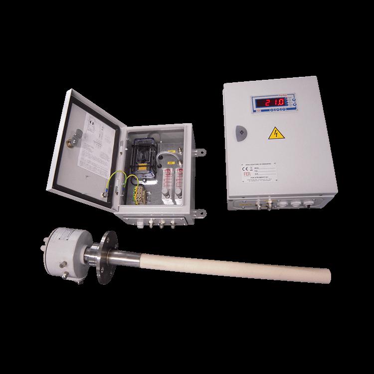 analizzatori ossigeno e gas 2